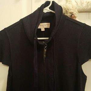Philosophy Navy Dress Batwing Pockets Small